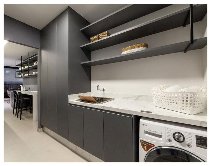 Simonetto apresenta projeto de lavanderia