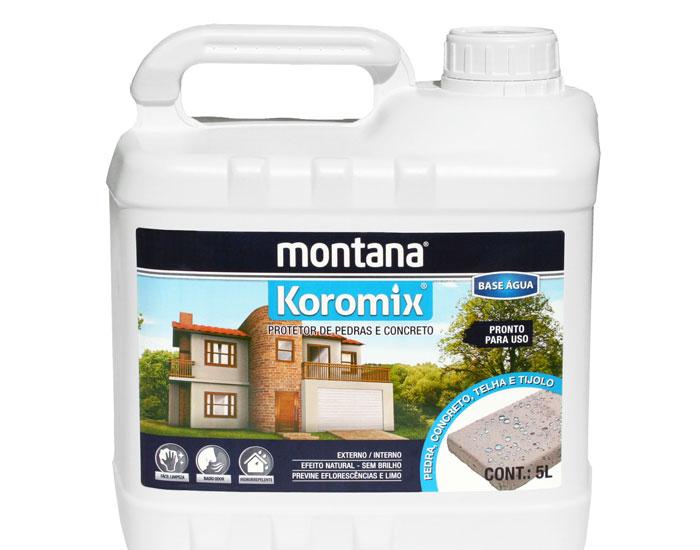 Hidrofugante ou impermeabilizante? Montana explica.