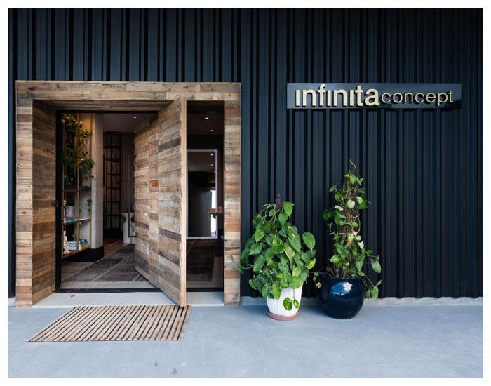 Nova abordagem ao cliente Infinita Concept
