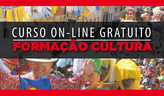Até 02/08 – Curso de formação em cultura