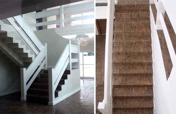 Revestir escadas com piso vinílico ePiso