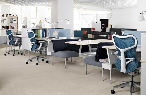 Ambiente de trabalho aberto, eficiente e produtivo