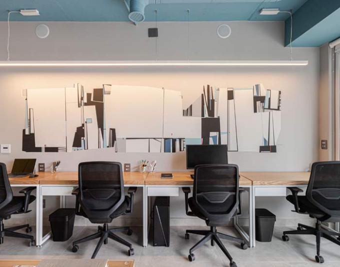 Iluminação correta para escritório