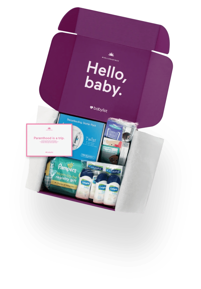 Get Your Free* Hello Baby Box.