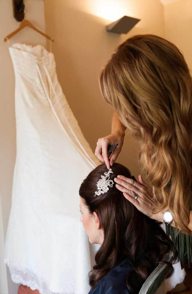 wedding hair & bridal make up - barbarella hair