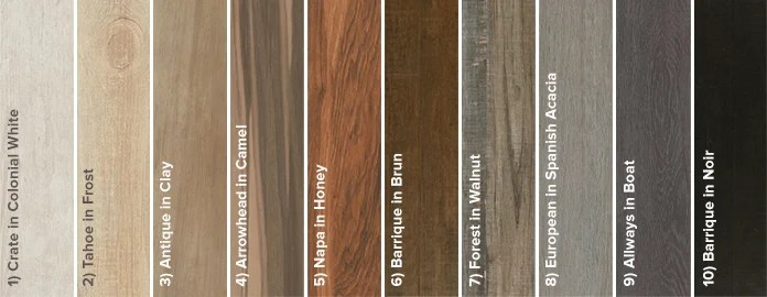 why wood look porcelain works