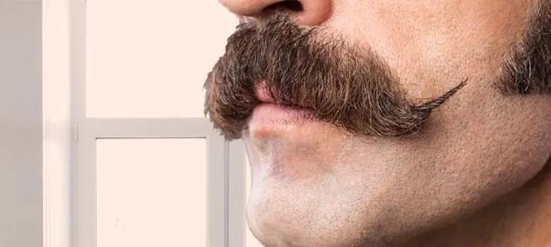 Cowboy Mustache styles cowboy handlebar mustache style