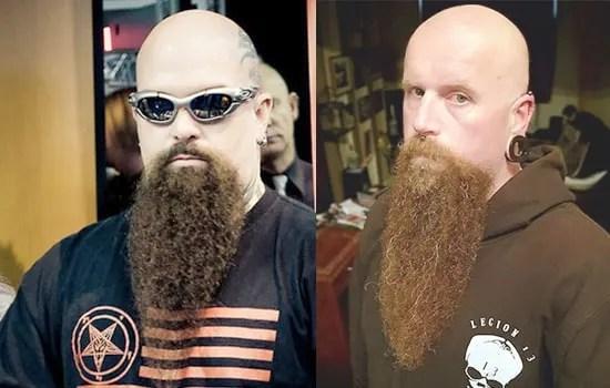 Full Metal Long Goatee Beard Style