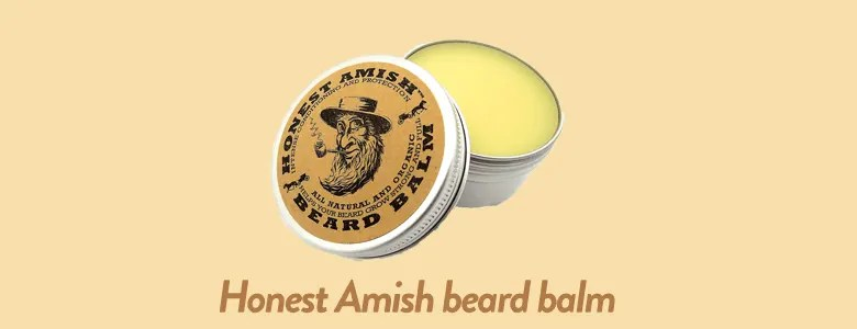 Honest amish beard balm Made with Organic Ingredients