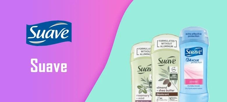 suave spray antiperspirant and deodorant
