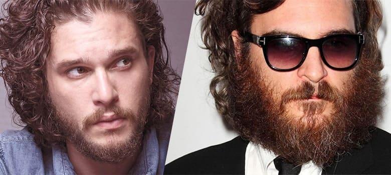 scruffy beard style