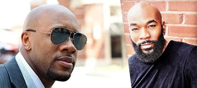 bald with beard styles