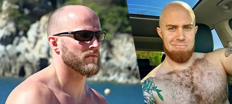 Bald Men with Beard - Beard Styles with Shaved head