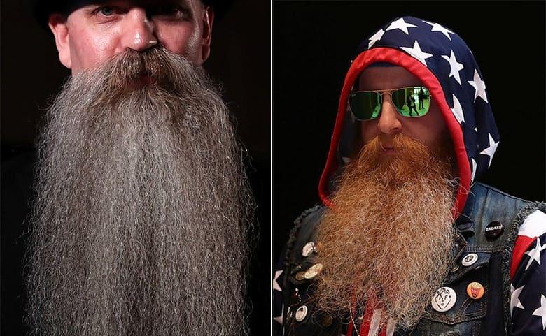 long full beard and mustache styles