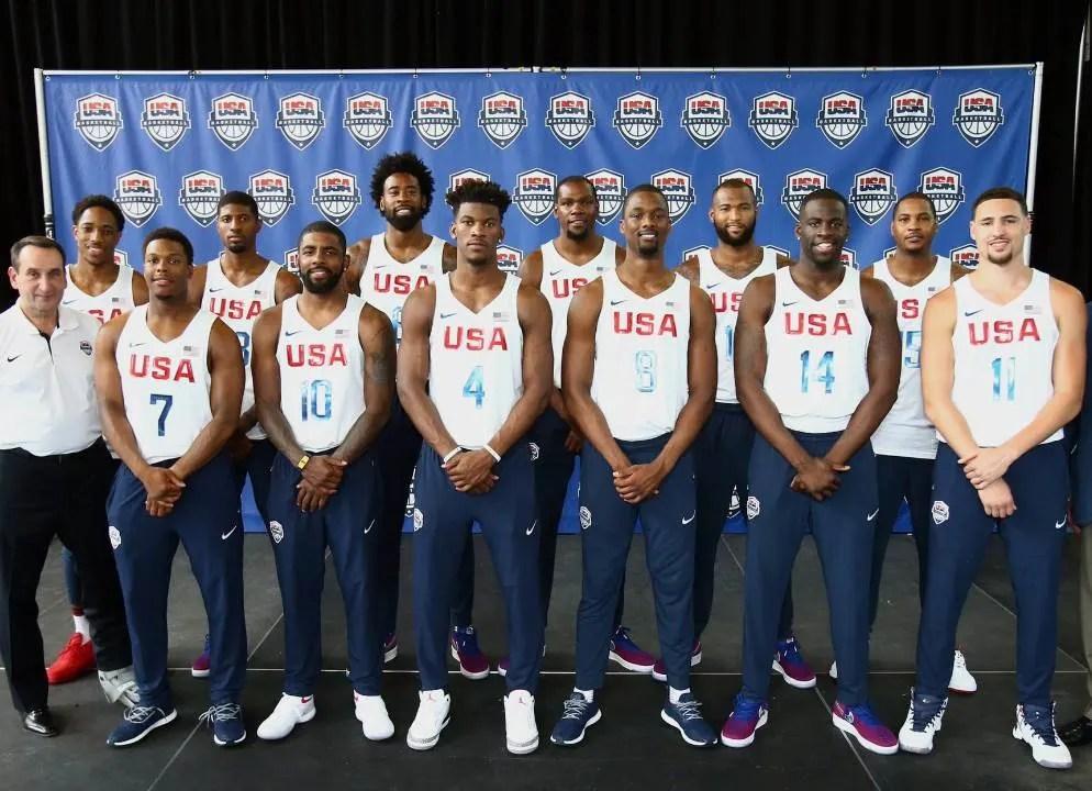 Basketball team USA