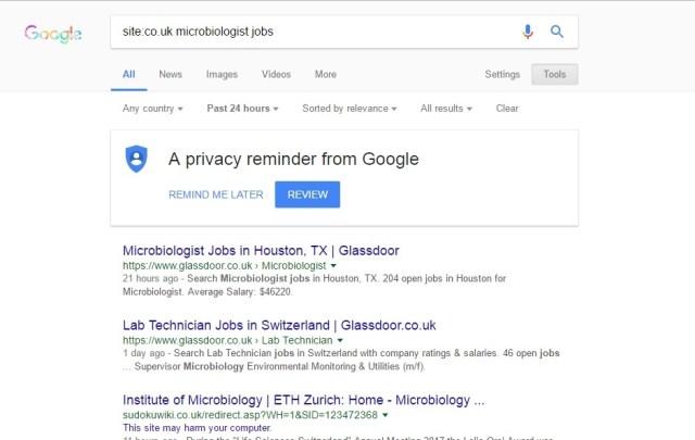 Google Seach Tricks