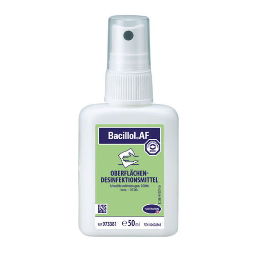 Bacillol AF, rapid surface disinfecting 50 ml