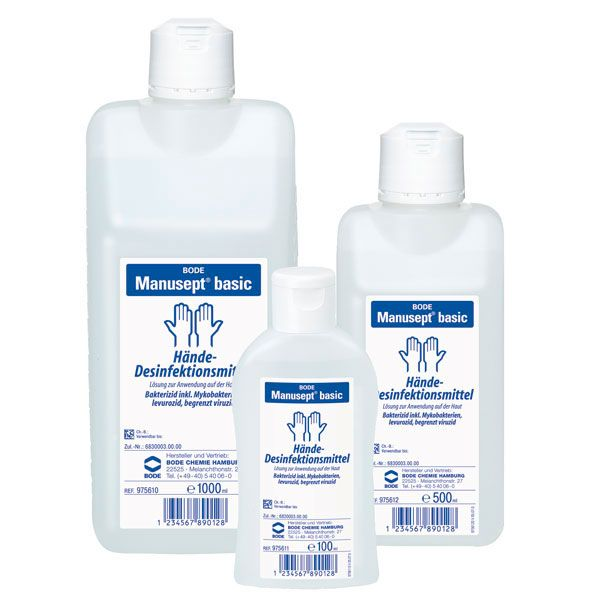 Manusept Basic Hand Sanitiser 100 ml