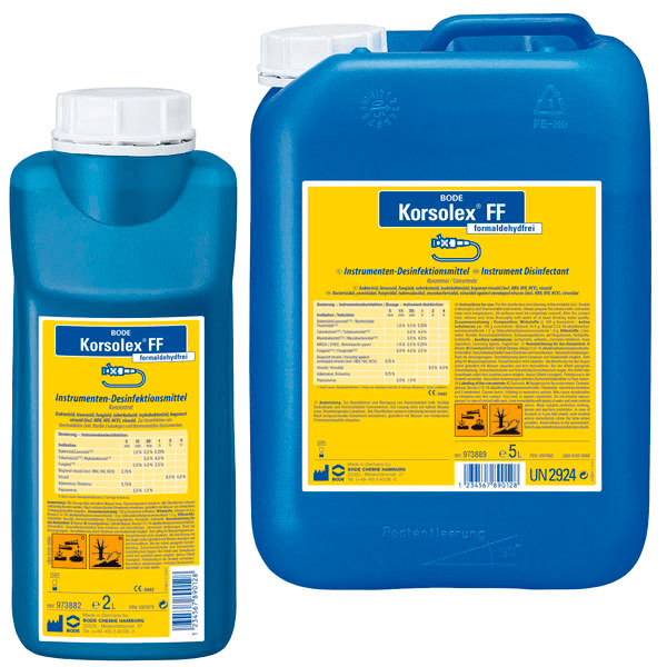 Korsolex FF, iInstrument disinfecting 2 liter