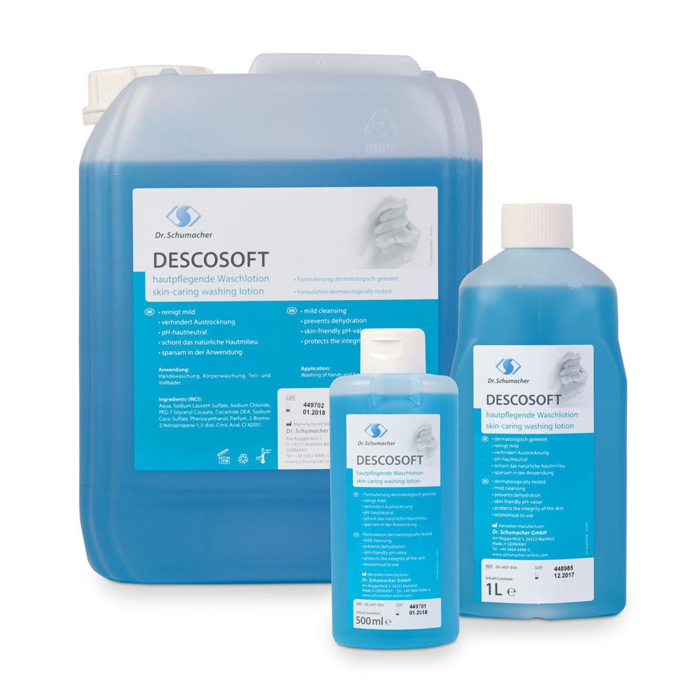 Descosoft wash lotion