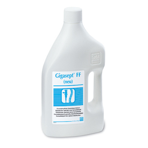 Gigasept FF new, instrument and endoscopic disinfection