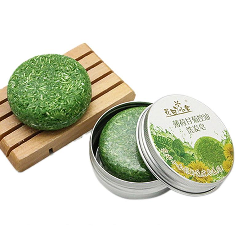 12 Colors 55g Handmade Hair Shampoo Soap Cold Processed Cinnamon Ginger Shampoo Bar 100% Pure Hair Shampoos Hair Care Tool 40