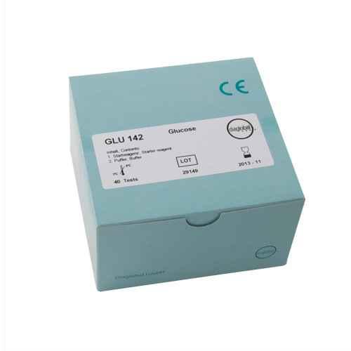Glucose test cuvettes, quantity 40