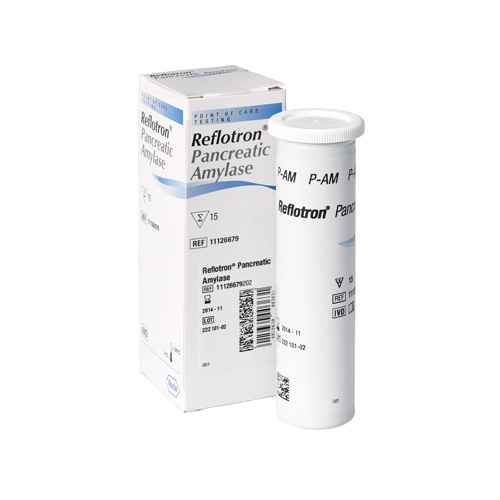 Reflotron Pancreatic Amylase Test Strip