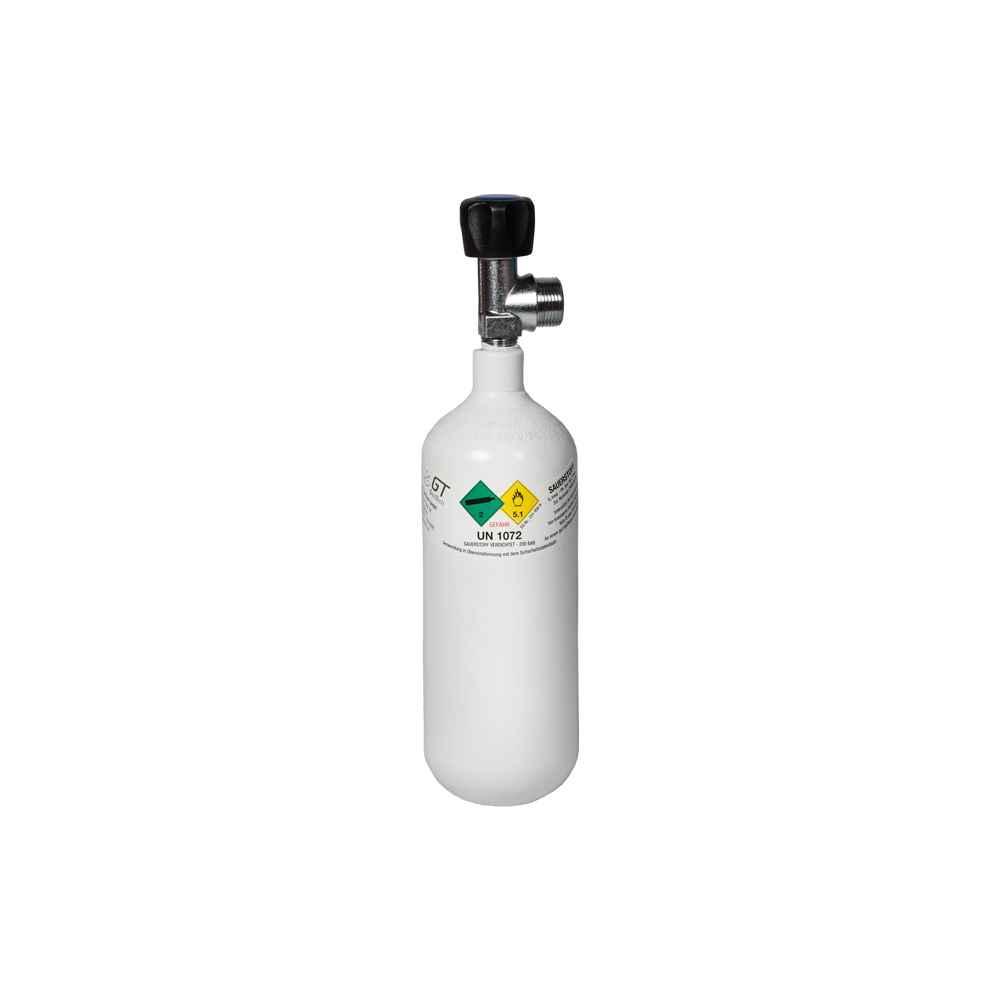Oxygen Tank, Full 0.8 litre