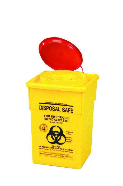 Sharps Container, 2 litres