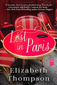Book cover for Lost in Paris by Elizabeth Thompson
