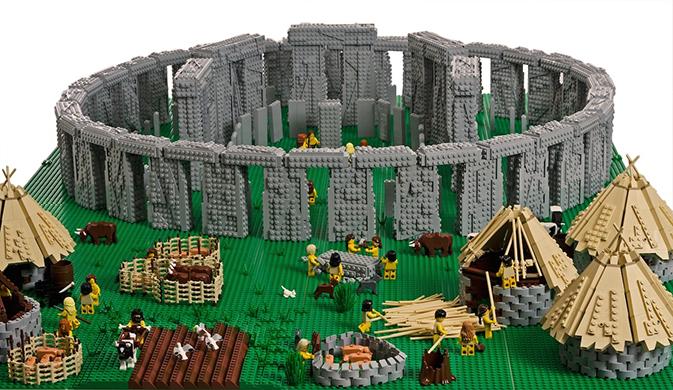 LEGO Stone Henge