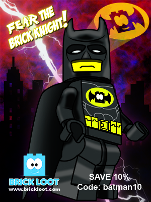 Batman Brick Loot Coupon