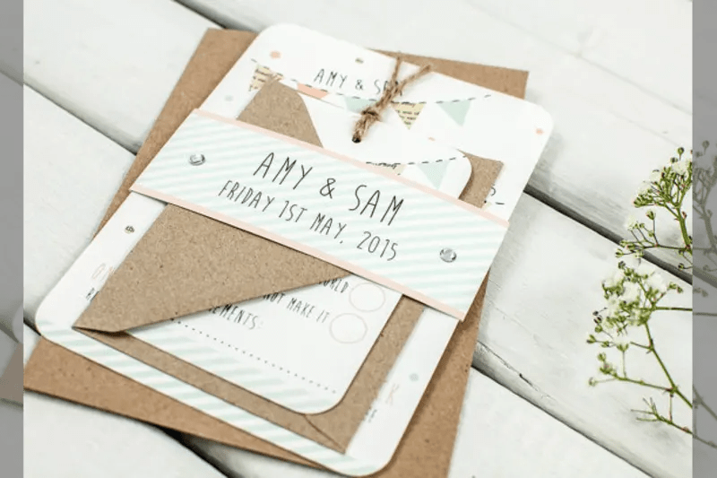 Bridebook Co Uk Rustic Wedding Invitation