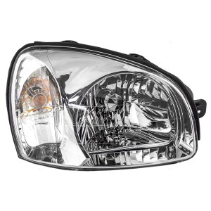 2003 Hyundai Santa Fe Passengers Headlight Assembly