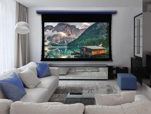 Настенные экраны для проекторов
