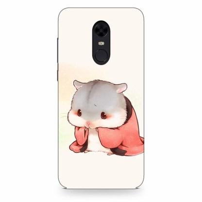Cute Little Hamster Xiaomi Redmi Note 4 Back Cover