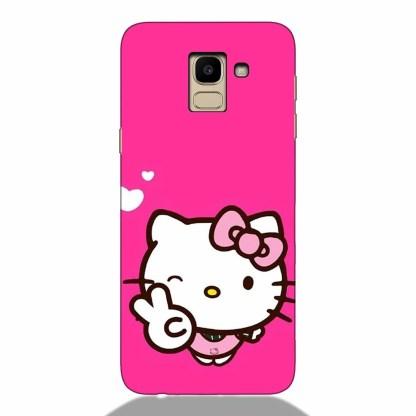 Sweet Kitty Samsung J6 2018 Back Cover