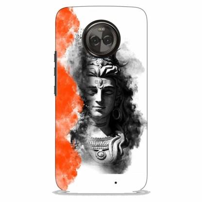 Shiv Mahadev Motorola X4 Back Cover