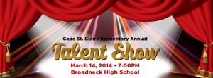 Annual CSC Talent Show at Broadneck High School