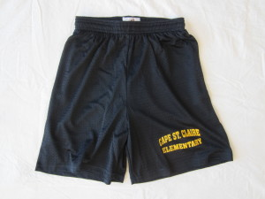 Cape-St-Claire-Navy-with-Gold-Imprint-Mesh Short