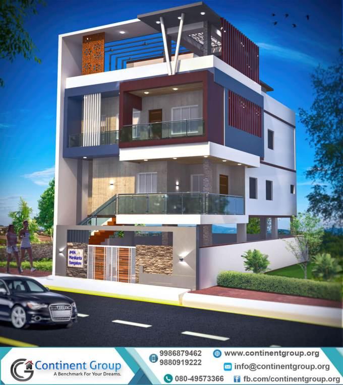 Front Elevation Of G 4 Building : Floors building design wikizie