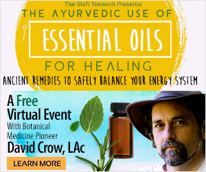 Aromatherapy intro rectangle - David Crow's Ayurvedic Secrets FREE from the ShiftNetwork