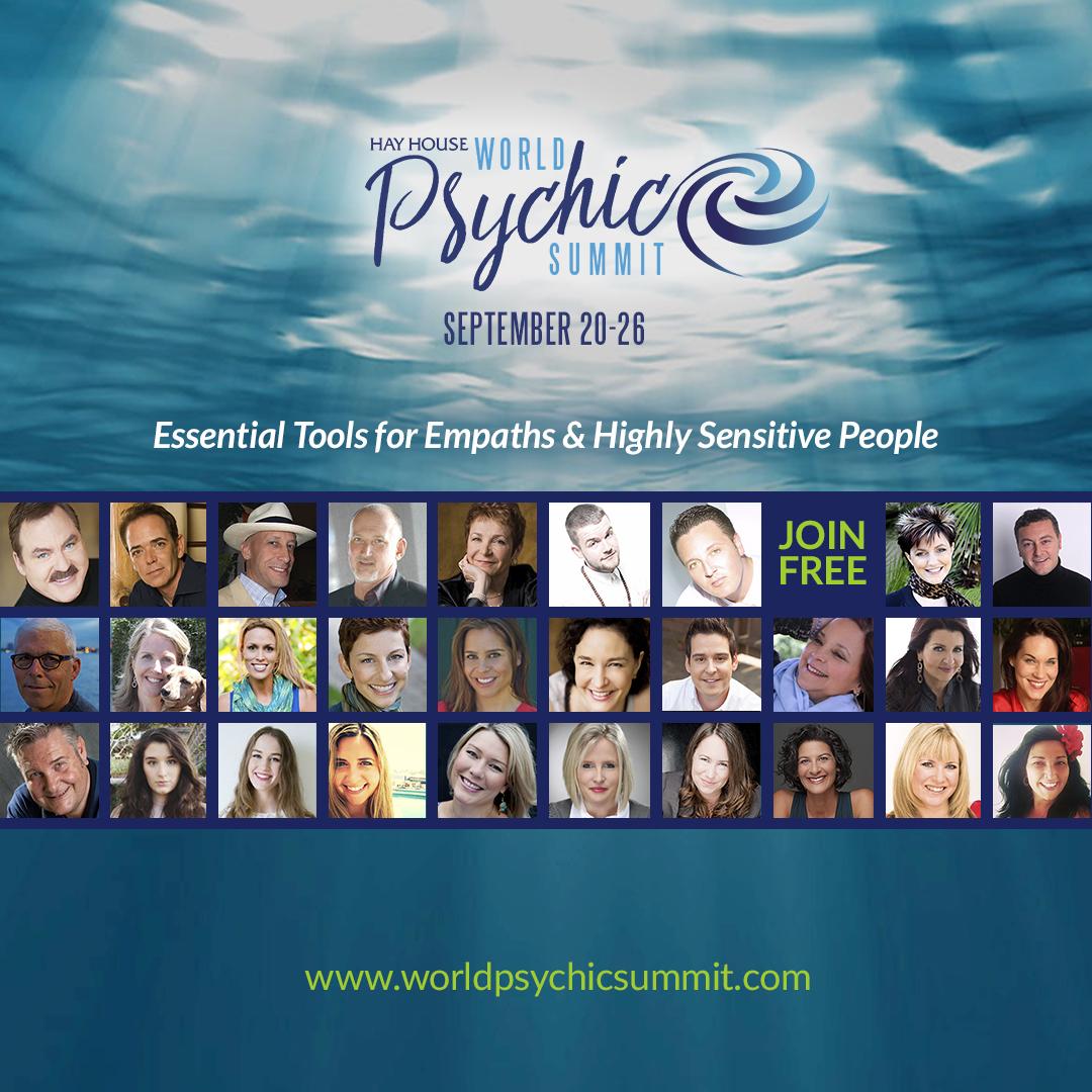 Hay House World Psychic Summit -September 20-26 1 Hay House World Psychic Summit -September 20-26