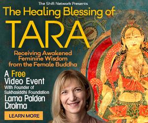 Receiving Awakened Wisdom  from  the Female Buddha, Tara: FREE with Lama Palden Drolma from The Shift Network 4 Receiving Awakened Wisdom  from  the Female Buddha, Tara: FREE with Lama Palden Drolma from The Shift Network