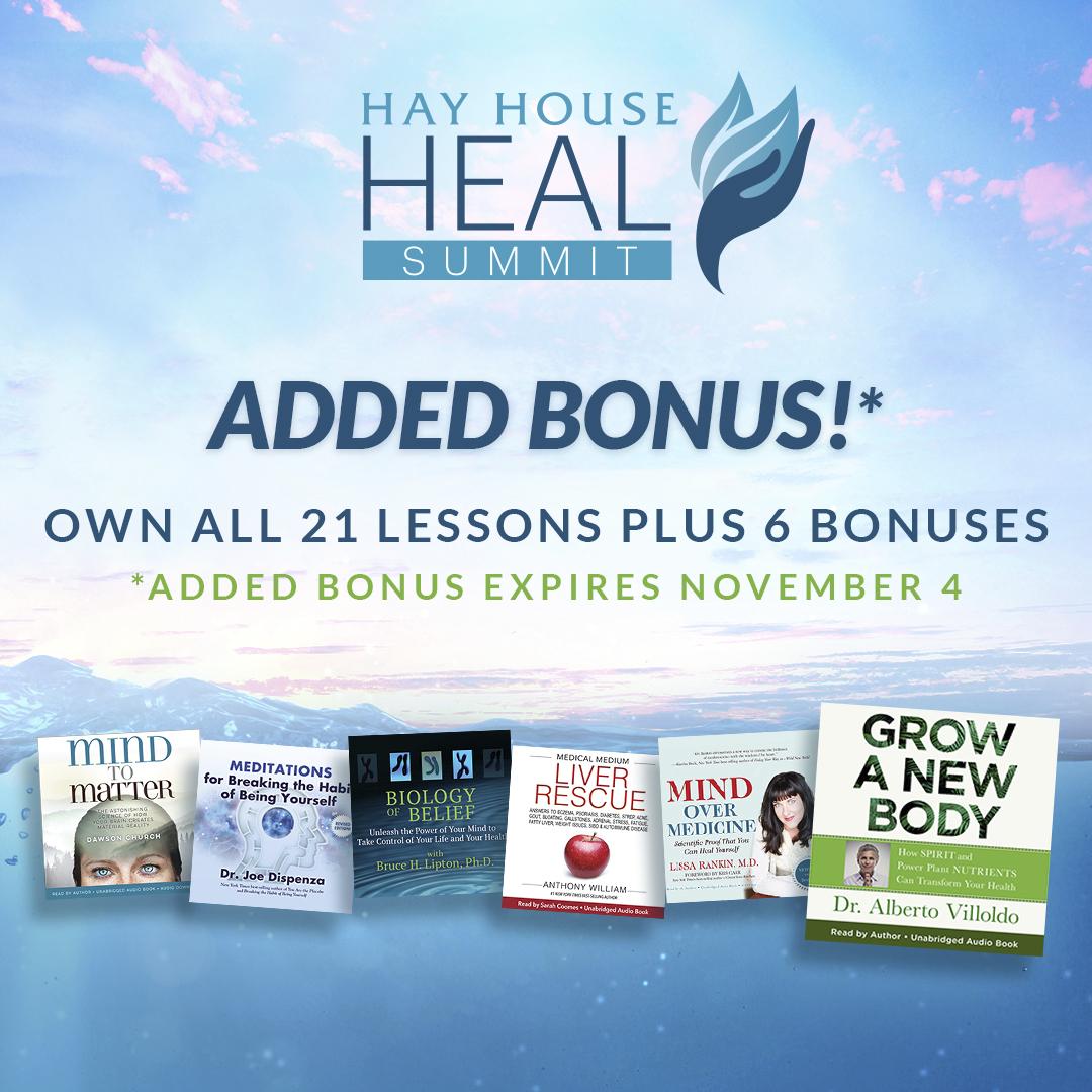 Hay  House Heal  Bonus