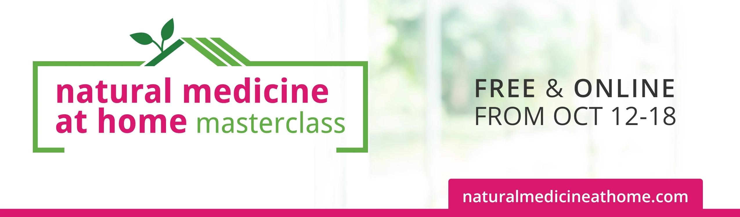 Natural Medicine at Home
