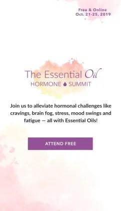 Essential Oil Hormone Summit
