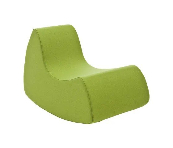grand prix rocking chair by softline a