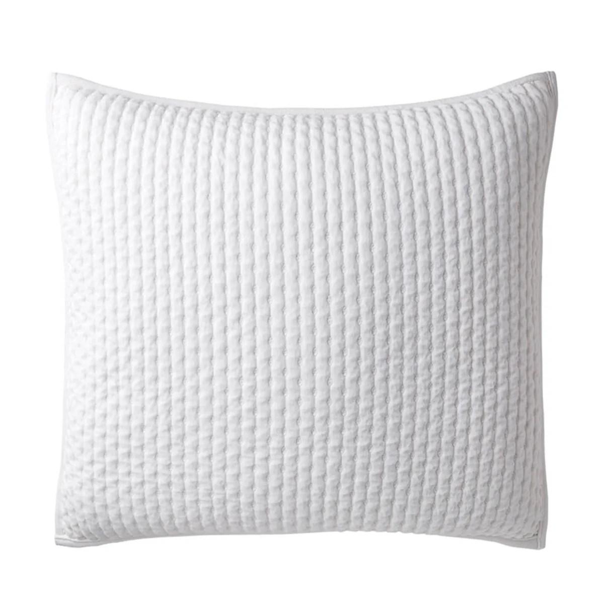 legends luxury paloma cotton velvet euro sham white